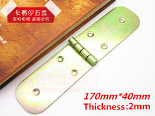 4pcs Folding table large round table hinge accessories plate turnover desk 170mm*40mm(China)