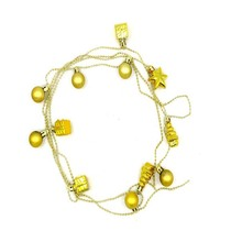 MJARTORIA 1PC DIY Chain With Little Bell Chains Ornaments For Christmas Decoration DIY Accessories Link Chain For Christmas Tree(China)