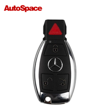New 315MHz Smart Car Key with Chip for Mercedes Benz , Keyless-Go Start Function Keys 4 Button , DHL Fast Free shipping 2017