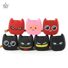 PIAGOLD Cute emoji Portable Power Bank 10000mAh Universal 18650 External Battery Dual USB Port Charger For Mobile Phones(China)