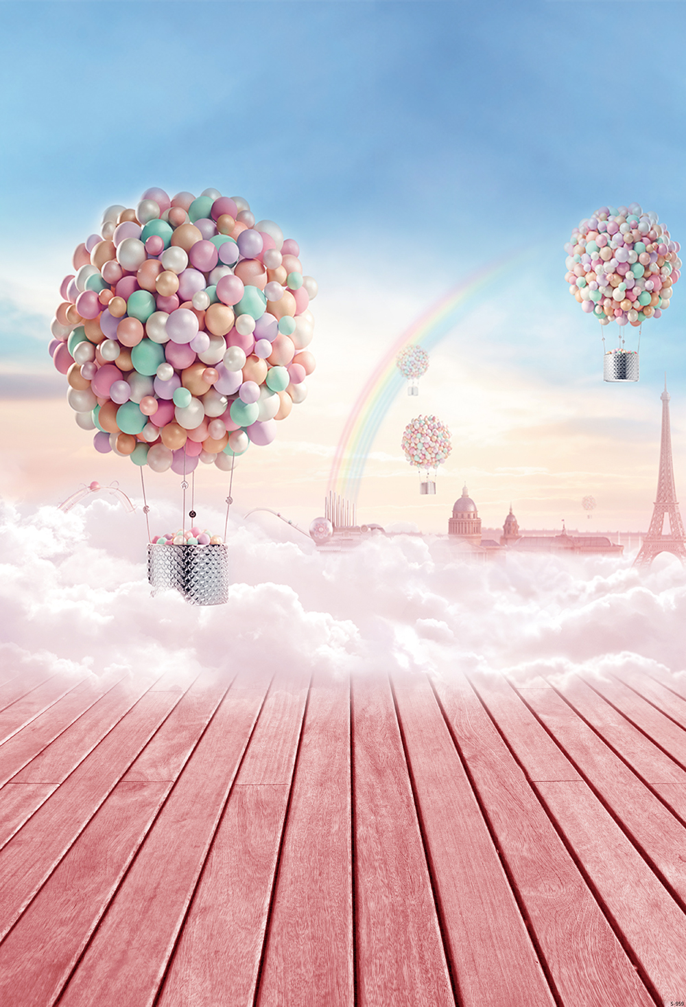 PINK rainbow Photography background Computer Printed children Photography backdrops for Photo studio S-959<br><br>Aliexpress