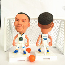 Soccerwe Basketball Star Action Series 30 Curry Doll ( WA 2017 Season ) White(China)