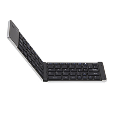 Universal Bluetooth 3.0 Folding Keyboard Mini Wireless Foldable Keyboard for iPhone for iPad iOS Android Smartphone Tablet