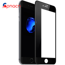 Full Screen Protector Tempered Glass For iPhone 8 7 Plus 6 6S Plus case Soft 3D Curved Cover GLass for iPhone 8 case Film(China)