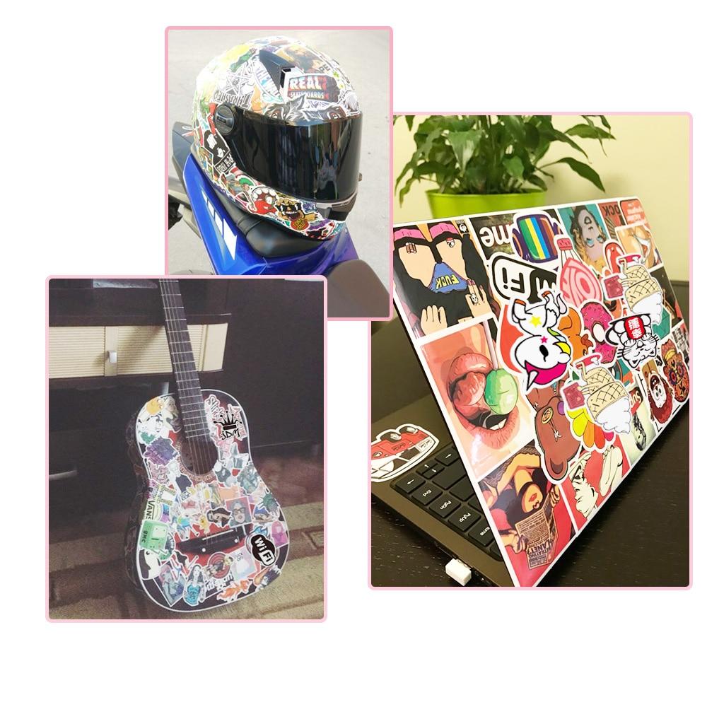 100-PCS-Colorful-Waterproof-Sticker-Animal-Cartoon-Punk-Game-Stickers-for-DIY-Skateboard-Guitar-Suitcase-Laptop