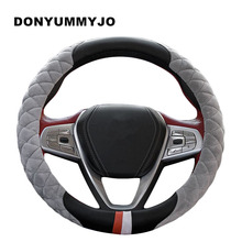 High Quality Winter Steering Wheel Cover Heated Steering Wheel Cover Winter Plush Steering Wheel Cover Size 38CM Fit 95% Car