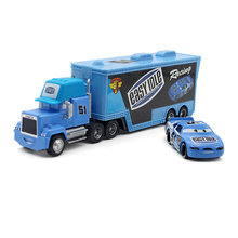 Disney Pixar Cars No.51 Mack Truck +Cute Mini Small Car Metal Toy Car For Children 1:55 Loose Brand New In Lightning McQueen(China)