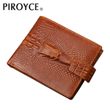 Purse Crocodile Style leather Wallet TOP Quality Fashion Brand Wallets with Coin Pocket Credit Card Holders Hidden Zipper Pocket
