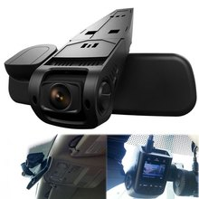 Car DVR Dash Cam Video Recorder 170 Degree Wide Angle Lens Hidden H.264 1080P Full HD High Resolution vehicle recorder(China)