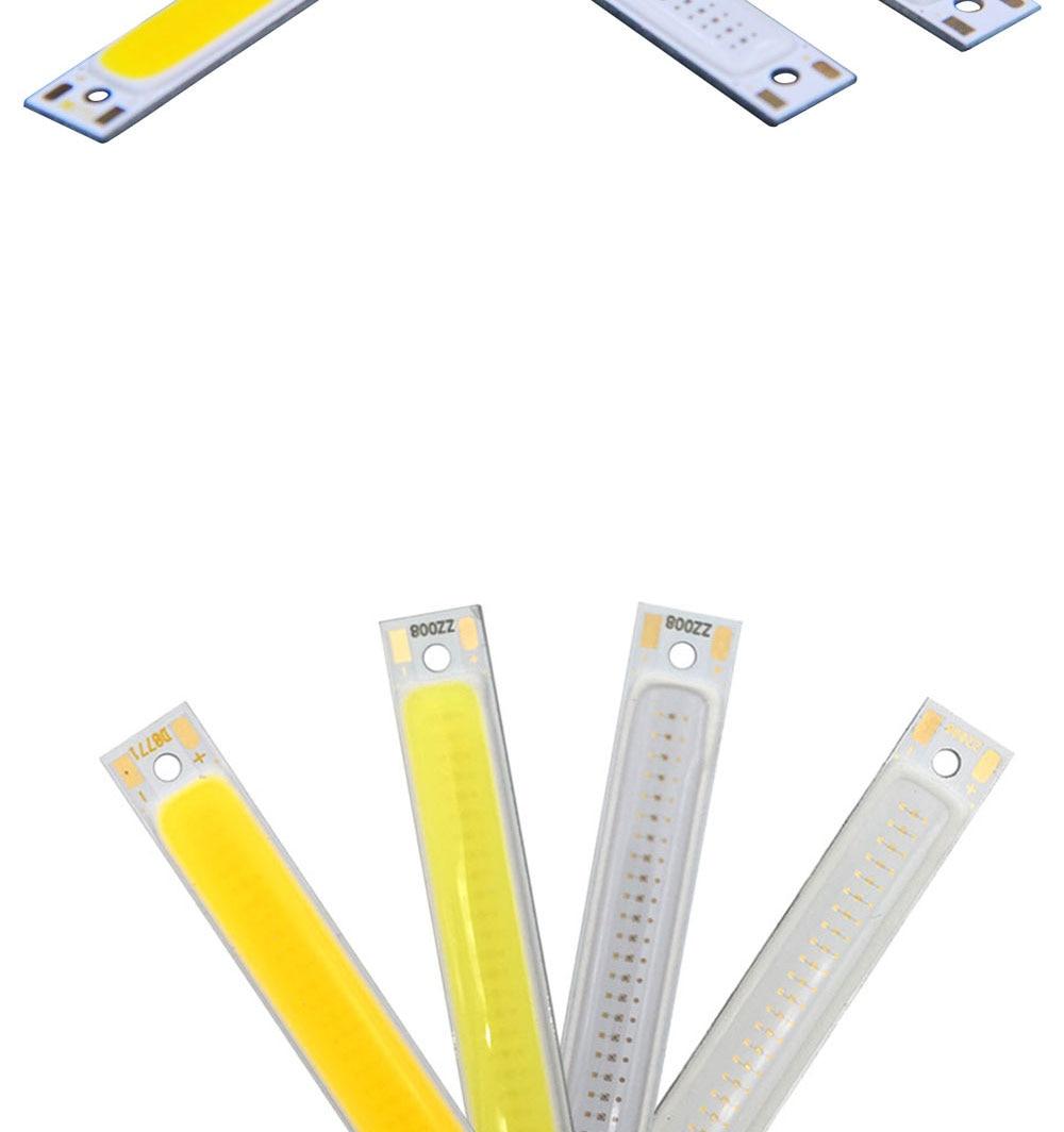 cob led strip light lamp bulb car lighting 3.7V 3w (2)