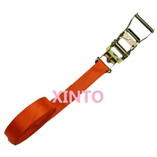 "1.5"",38MM,2TX5M--9M,without hook,ratchet tie down cargo lashing auto motor shipping package strap shipment belt assembly sling(China)"