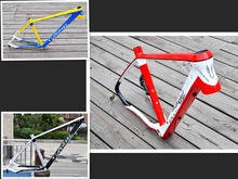 Free shipping a full carbon fiber frame mountain bike frame 26 * 16 / 17mm 27.5 * 16 / 17mm carbon bike frame to send headphones