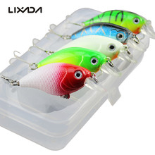 5Pcs Fishing Lures Kit 5.5cm Spinner Minnow Crankbait Fish Lure Set Isca Artificial Bait With Hook Pesca Fishing Tackle Tools(China)