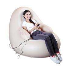 Luxury Multifunctional Electric body Massager Chair Inflatable Sofa Home Massage Armchair + Inflator pump + Inflatable Pillow(China)