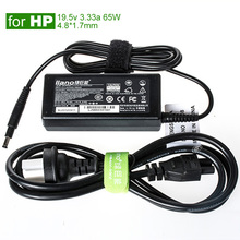 19.5V 3.33A 4.8*1.7mm 65W High Quality AC Power Adapter for HP Laptop Envy4 Envy6 Series PA-1650-02 Notebook Charger