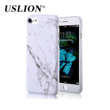 Fashion Marble Pattern Phone Case For iPhone 7 Plus Smooth Hard Plastic Phone Back Cover Cases For iPhone7 Plus