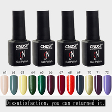 Buy CNDSE Nail Polish 7ML Soak UV LED Bling Gel Nail Primer Semi Permanent Gel Lacquer Lucky Enamel Acrylic Nail Art Paint for $3.99 in AliExpress store