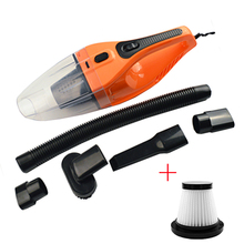 SALBEITECH 5M 120W 12V Car Vacuum Cleaner Handheld Super Suction Wet And Dry Dual Use Vaccum Cleaner For Car Promotion!!!(China)