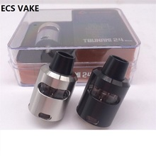 Hot Tsunami 24 RDA with Glass Window Atomizer Clone DIY Coil Drip Tip 510 Thread Electronic cigarette Atomizer Tank RTA