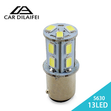 2X  5050 LED1156 BA15S P21W 13 SMD Brake Parking Rear Tail Lamps Auto Led Car Bulb 12V 13SMD Turn Signal Light Bulb Hot sale