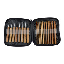 Buy Looen 20pcs/set Baby Knitting Needles Handle Bamboo Crochet Hooks Knitting Needles Set Weave Craft Tool Bag Mummy Necessary for $8.54 in AliExpress store