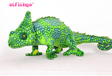 Giant Plush Pillow Kawaii Lizard Plush Toys Chameleon Plush Dolls Giant Stuffed Animal For Boys Birthday Gift 69*28cm