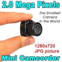 Hot Y2000 Smallest Cmos Super Mini Video Camera Ultra Small Pocket 720*480 DV DVR Camcorder Recorder Web Cam 720P JPG Photo