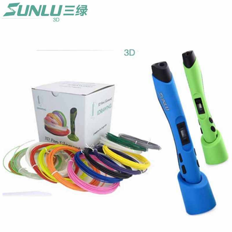 3D Pen+22 Color*5 Meter 1.75mm ABS/PLA Filament 3D...