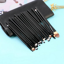 Top Quality 20 pcs Pro Powder Brushes Cosmetic Set Foundation Eyeshadow Lip Face Makeup Tool Women Make Up Brush Sets(China)