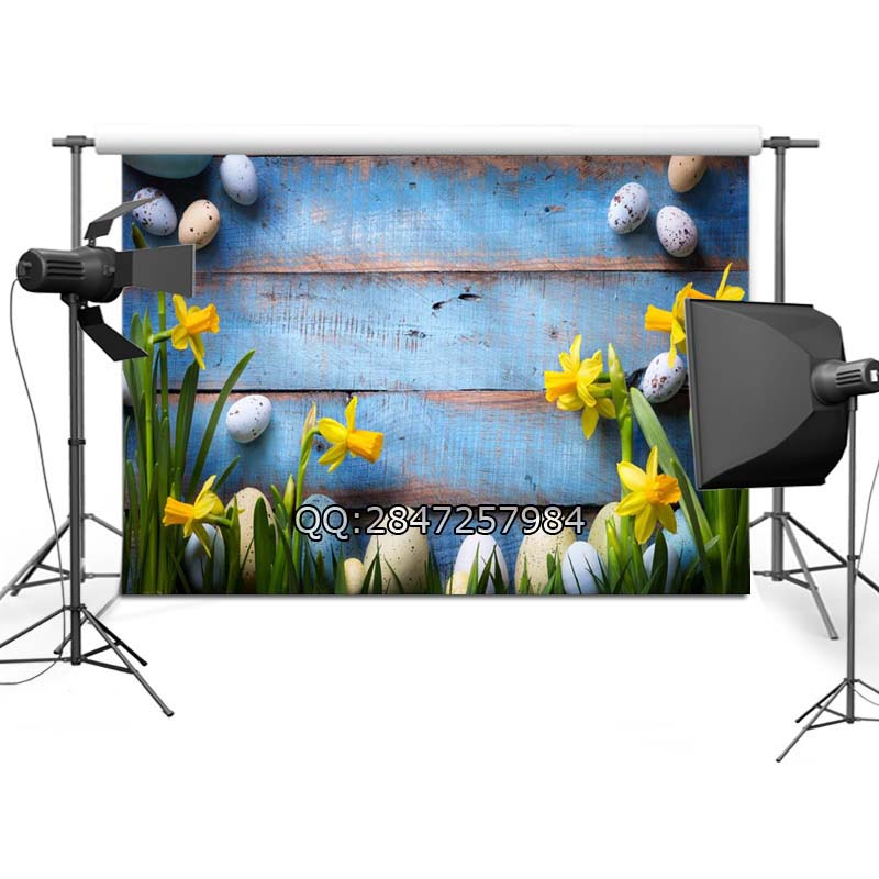 Easter Backdrop Vinyl Custom Photography Backdrops Prop Photography Background  F-2379<br><br>Aliexpress