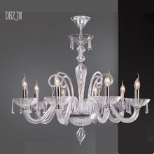 Luxury crystal Chandelier lighting lamp candle crystal chandelier lamp brief fashion living room lamp lighting French style lamp