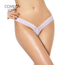 PI5084 Comeonlover M To XXXL Plus Size Women Panties Super Deal Low Waist Sexy Lace Underwear V Shape Sexy Women's Thongs Briefs(China)