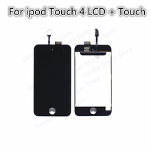 new arrival for iPod touch 4 LCD display with touch screen Digitizer Assembly replacement parts free shipping +repair tools