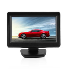 4.3inch TFT LCD Monitor With Waterproof Car Wired Reverse Backup Camera Rear View System Night Vision Parking Assistance HOT(China)