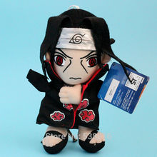 New High Quality Naruto Uchiha Itachi Soft Plush Toy Stuffed Doll Children Best Gift 1pc