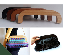 25*8.5cm Purse Bag Wooden frame,Solid Wood Oak Tree Frame for Hand made Evening Bag,Wood Purse Hand Bag Fittings