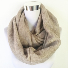 New Fashion Unisex Womens Winter Circle scarves Cashmere Ladies Infinity Scarf Snood Scarves Wraps Loop women scarf(China)