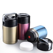 Stainless Steel Vacuum Stew Pot Thermos For Food Soup With Containers Travel Launch Picnic  Mug Sports Bottle Outdoor