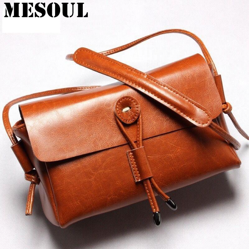 Fashion Women Crossbody Bag Genuine Leather Shoulder Bag For Ladies Bag Summer New Yellow / beige/brown Small Bag Purse L5015<br>