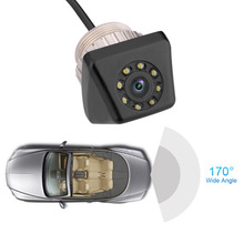 170 Degree Wide Angle Car Rear View Reverse Backup Camera Night Vision IP68 Waterproof Parking Sensor Camera
