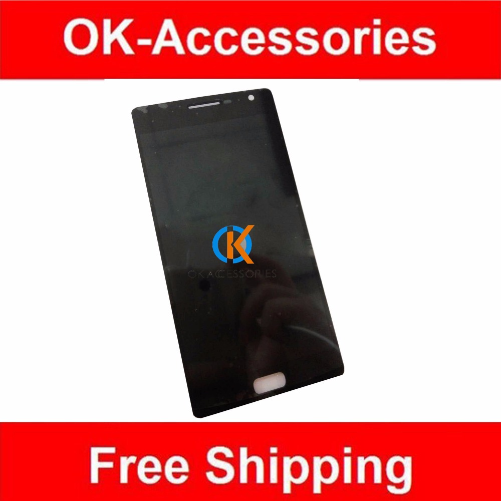Black Color For One Plus Two  LCD Display + Touch Screen Digitizer Assembly 1PC/Lot <br><br>Aliexpress