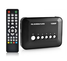 Mini Full HD 1080P Digital Streaming Media Player With AV/HDMI /YUV /SD/USB HD Media Players(Hong Kong)