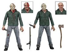 Hot Sale Jason From Horror Movie Friday The 13th Part 3 Ultimate 3D Cover 18CM NECA Action Figure