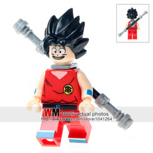 Single Sale Super Heroes WM232 Dragon Ball Z Figures Son Goku Vegeta Master Roshi Building Blocks Children Gift Toys