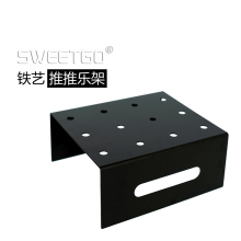 1 Pcs 12 Hole Iron Black Cake Pop Lollipop Display Stand Server Decoration Stand Holder Base Shelf #15305