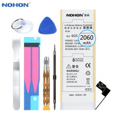 Original NOHON Battery For iPhone 6s iPhone6s High Capacity 2060mAh Cell Phone Batteries With Retail Package Free Tools In Stock