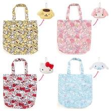 Cute Cartoon Hello Kitty My Meloday Folding Reusable Shopping Bag Eco  Friendly Tote Bag Foldable Shopper 4c4f37834e