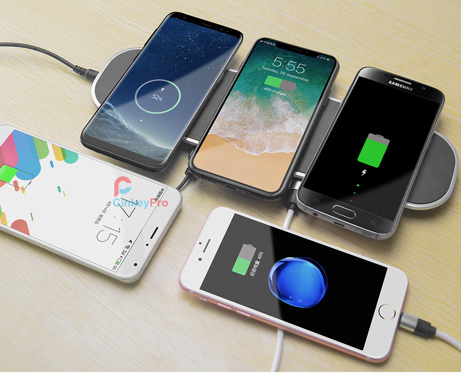 Wireless Charger Station 10