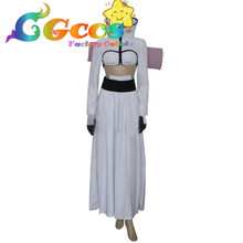 CGCOS Free Shipping Cosplay Costume Bleach Halibel Espada New in Stock Retail / Wholesale Halloween Christmas Party Uniform