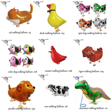 Hot selling !!! 100pcs/lot Free shipping Mix styles wholesale Various Walking pet balloons Helium Baloon